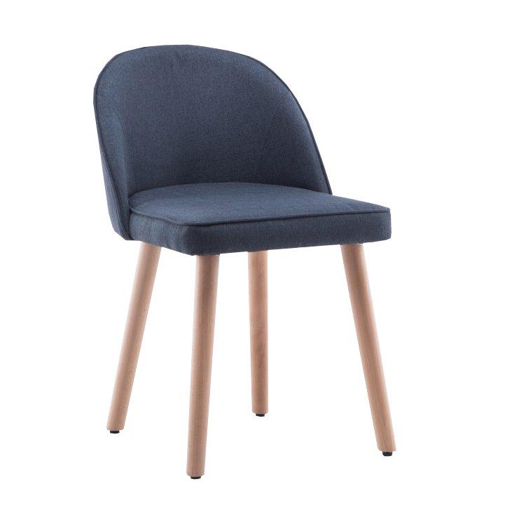 Stolička, sivá, LALIMA - Tempo nábytek