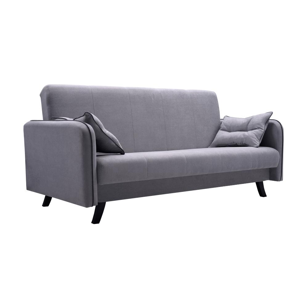 Pohovka, sivá, PRIMO - Tempo nábytek