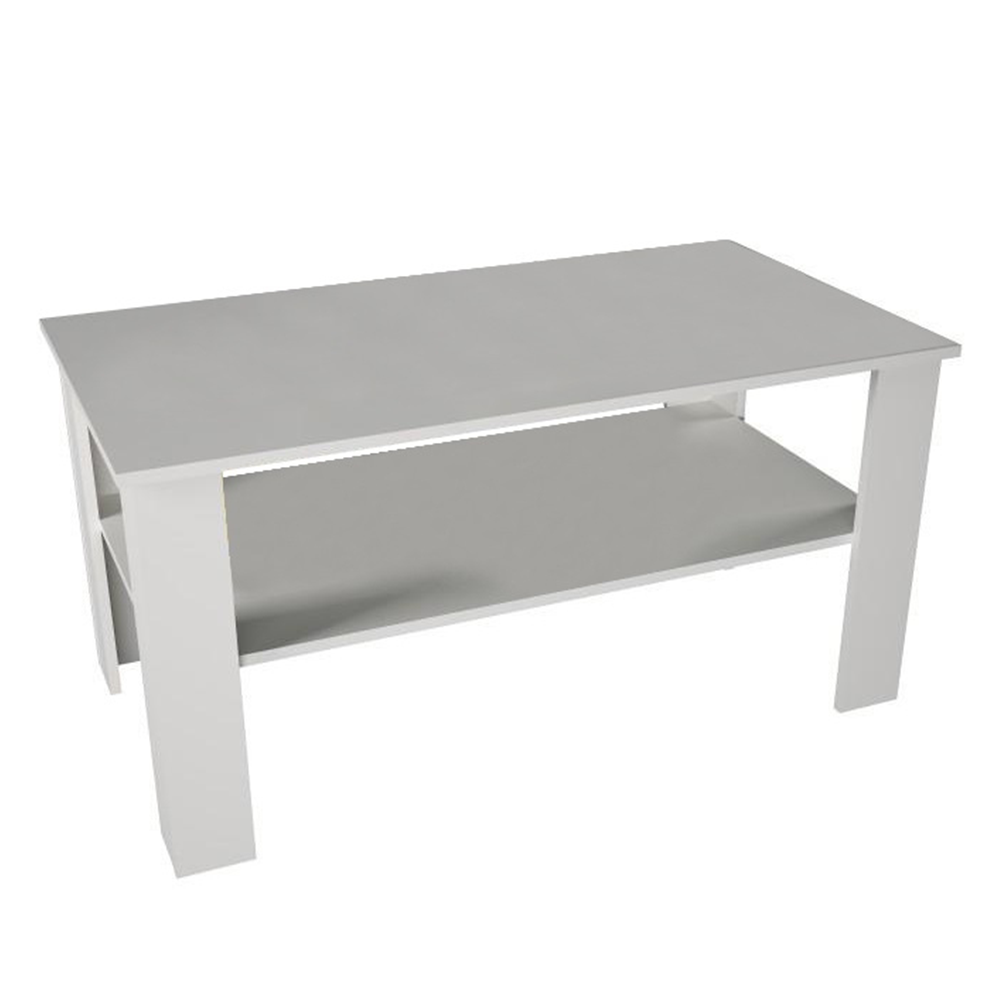 Konferenčný stolík, biela, GAUDI - Tempo nábytek