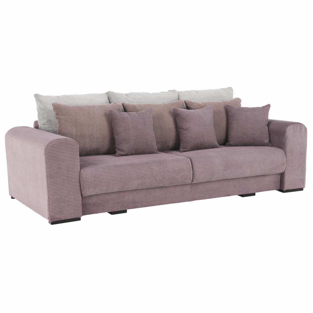 Extra priestranná pohovka, fialová/staroružová/béžová, GILEN BIG SOFA - Tempo nábytek